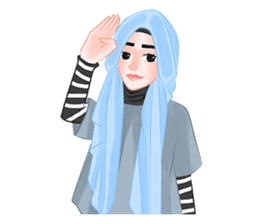 Hijab Outfit of The Day sticker #8837677