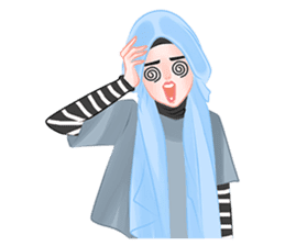 Hijab Outfit of The Day sticker #8837678