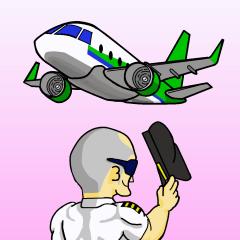 Funny Jet Pilot