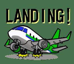 Funny Jet Pilot sticker #8838419