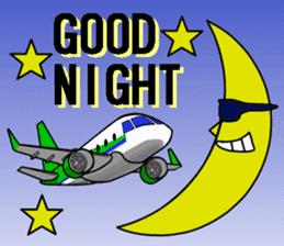 Funny Jet Pilot sticker #8838421