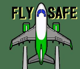 Funny Jet Pilot sticker #8838429