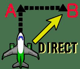 Funny Jet Pilot sticker #8838430