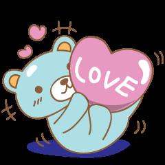 Cutie pastel bear