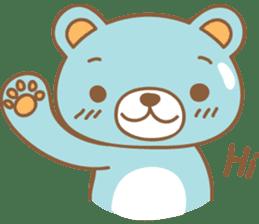 Cutie pastel bear sticker #8841760