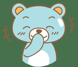Cutie pastel bear sticker #8841761
