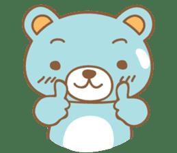 Cutie pastel bear sticker #8841762