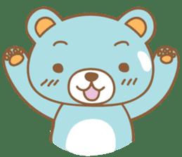 Cutie pastel bear sticker #8841763