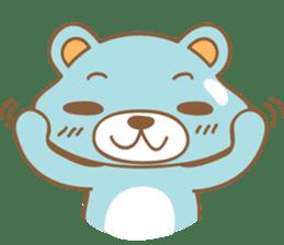 Cutie pastel bear sticker #8841764