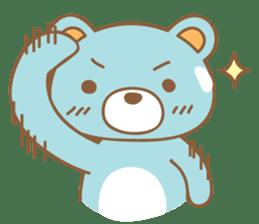 Cutie pastel bear sticker #8841765