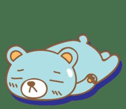 Cutie pastel bear sticker #8841769