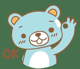 Cutie pastel bear sticker #8841770