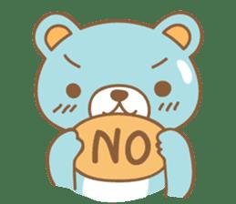 Cutie pastel bear sticker #8841771