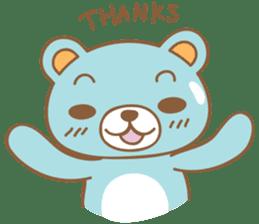 Cutie pastel bear sticker #8841773