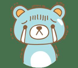 Cutie pastel bear sticker #8841774