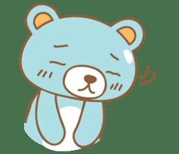 Cutie pastel bear sticker #8841779