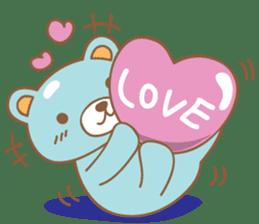 Cutie pastel bear sticker #8841780