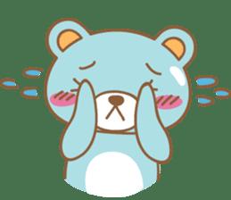 Cutie pastel bear sticker #8841782