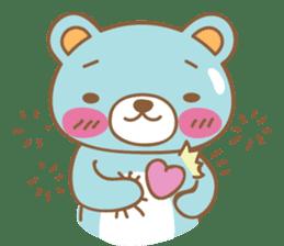 Cutie pastel bear sticker #8841783