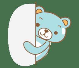Cutie pastel bear sticker #8841784