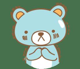 Cutie pastel bear sticker #8841786