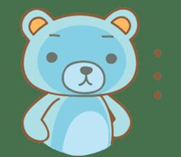 Cutie pastel bear sticker #8841787