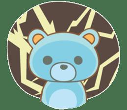 Cutie pastel bear sticker #8841789