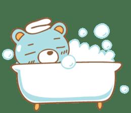 Cutie pastel bear sticker #8841792