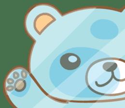 Cutie pastel bear sticker #8841793