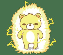 Cutie pastel bear sticker #8841794