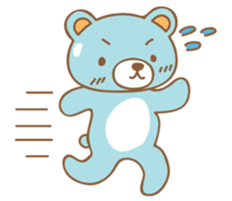 Cutie pastel bear sticker #8841797