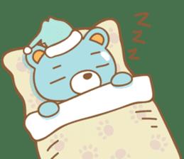 Cutie pastel bear sticker #8841798