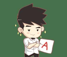 "Tonmai "" University Life "" Eng Ver. sticker #8846659"