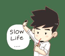 "Tonmai "" University Life "" Eng Ver. sticker #8846669"