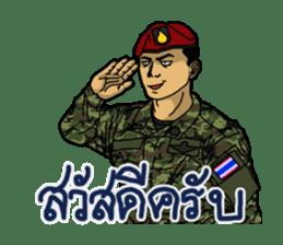 Thai Army Upgrade sticker #8850344