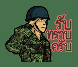 Thai Army Upgrade sticker #8850345