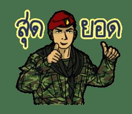 Thai Army Upgrade sticker #8850346