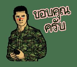 Thai Army Upgrade sticker #8850347