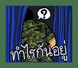 Thai Army Upgrade sticker #8850349