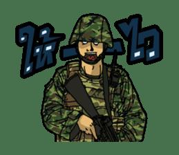 Thai Army Upgrade sticker #8850350