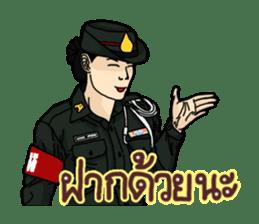 Thai Army Upgrade sticker #8850351