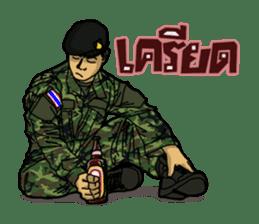 Thai Army Upgrade sticker #8850352
