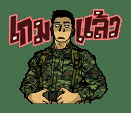 Thai Army Upgrade sticker #8850353