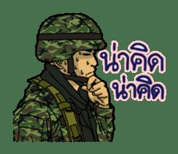 Thai Army Upgrade sticker #8850356
