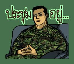 Thai Army Upgrade sticker #8850357