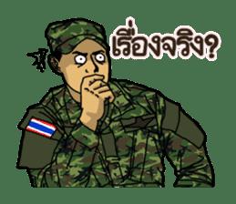 Thai Army Upgrade sticker #8850359