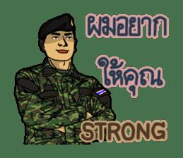 Thai Army Upgrade sticker #8850360