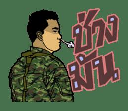 Thai Army Upgrade sticker #8850362
