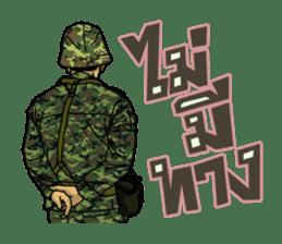 Thai Army Upgrade sticker #8850364