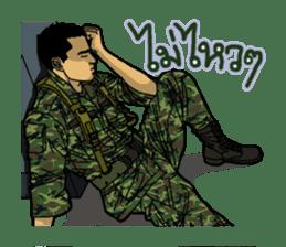 Thai Army Upgrade sticker #8850367